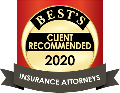 Best's Client Recommended Insurance Attorneys 2020